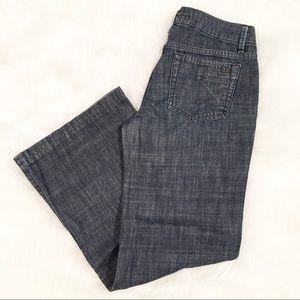 Joe's Jeans dark wide leg muse fit jeans 27